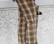 check-trouser