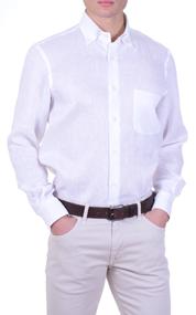 White-linen-mens-shirt