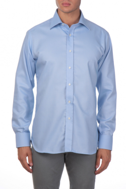 Ingram-non-iron-shirt-blue