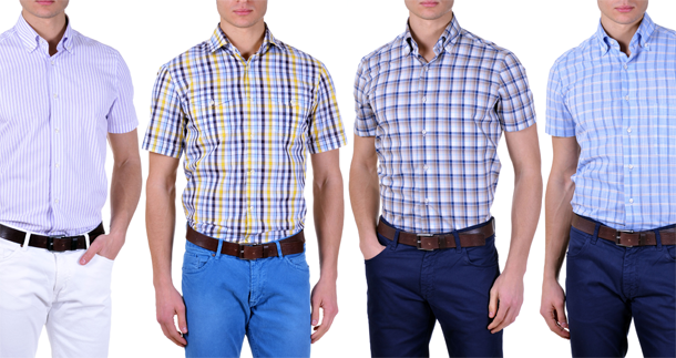 Short sleeve shirts, summer with comfort and style - Kamiceria's Blog