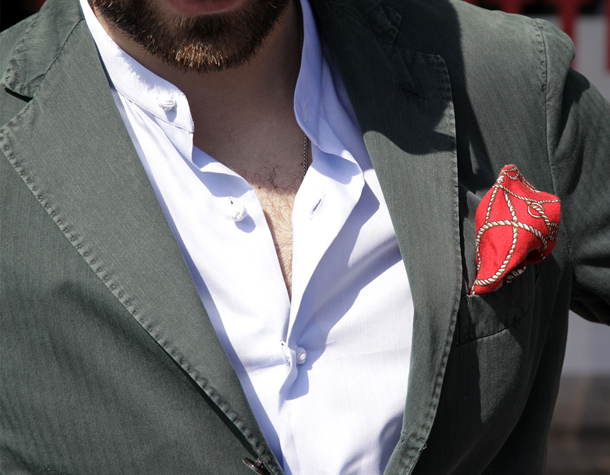 Mandarin-collar-shirt