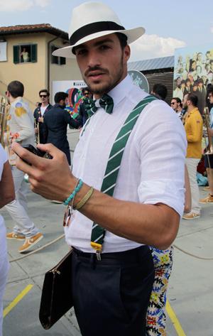 fashion-blogger-linen-shirt-bow-tie