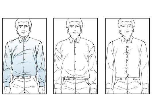 shirt-width