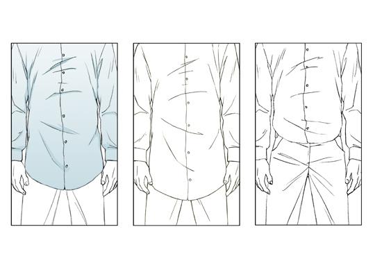 shirt-length
